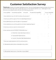 Survey Template Doc Customer Satisfaction Survey Template Word Elegant Best Of