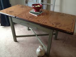 Retro Kitchen Tables For Vintage Kitchen Table With Enamel Top 16 Beautiful Additions To