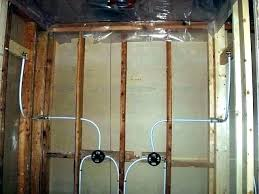 pex shower plumbing shower valve shower valve installing a shower valve how to install a shower