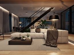 Home Designs: Natural Minimalist Living Room Design - Minimalist Interior