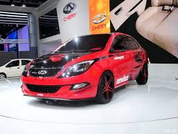 new car launches november 20142014 Guangzhou Auto Show Chery Erez 3 Championship release  car home