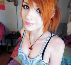 Boob redhead teen girl