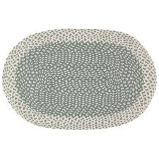 small thistle oval rug