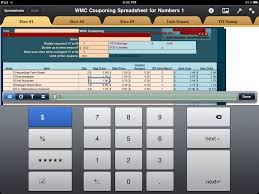 Coupon Sheet Template WMC Couponing Spreadsheet Program As Seen On Extreme Couponing 23