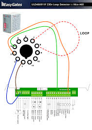 loop detector wiring diagram wiring diagram 230 Volt Wiring Diagram wiring diagram loop detector wiring diagram 230 volt loop detector to nice a60 control board loop 230 volt wiring diagram for a quad breaker