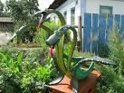 Змей горыныч из покрышки пошаговая инструкция