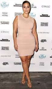 17 Best images about Beautiful Curves on Pinterest ASHLEY GRAHAM in a beige sleeveless minidress and gold sandals at Sports Illustrated Swimsuit s A