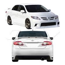 Duraflex Gt Concept Body Kit 4 Pc For Corolla Toyota 11-13 | eBay