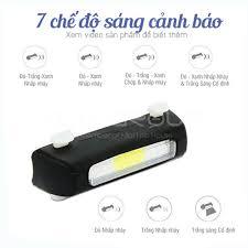 Đèn Nhấp Nháy Cảnh Báo Gắn Phía Sau Xe Đạp Siêu Sáng Có Sạc Điện USB Chống  Nước Giúp Đạp Xe An Toàn Ban Đêm MLH