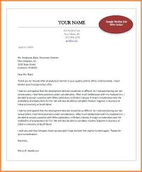 Thanks For Offer Letter Sample Post Internship Thank You Letter After Acceptance Of Job