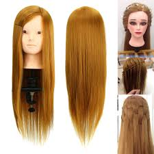 50 human hair makeup mannequin hairdressing training head salon model cl at banggood sold out