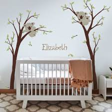 baby nursery decor koala tree