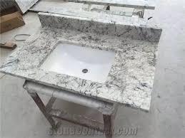 custom bathroom countertops. Modren Countertops Brazil Ice Granite Bathroom Countertops And White Custom Vanity  Tops On