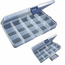 15 слотов регулируемая пластиковая <b>рыболовная</b> приманка ...