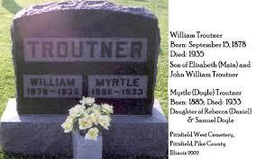 William & Myrtle Doyle Troutner