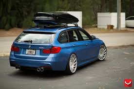 Vossen Wheels Vle 1 20 Inches On The Bmw F31 328i Estate Car