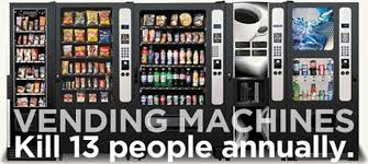 Top 10 Vending Machines Gorgeous Brain Post The Top 48 Deadliest Animals On Earth SnowBrains