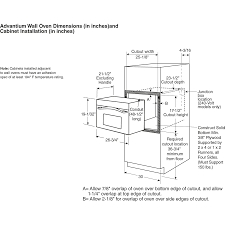 Dimensions Of Kitchen Cabinets Wall Oven Cabinet Dimensions Moniezjacom