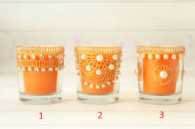 candle holders for a wedding