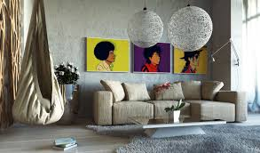 best cool contemporary art for living room decor f