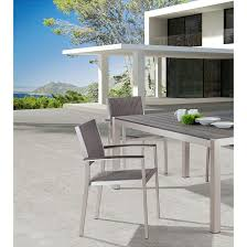 contemporary cb2 patio furniture. Cool Grey Outdoor Dining Set Of Matera Large Table CB2 Contemporary Cb2 Patio Furniture