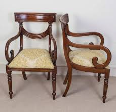 This Is An Absolutely Fantastic English Made Vintage Set Of 16 Regency Style  Dining Chairs Regency Furniture 1stDibs30