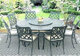 round metal patio table aluminum outdoor dining set round outdoor patio table real cast aluminum outdoor patio set 8 dining chairs inch round table
