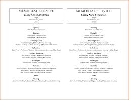 025 Memorial Service Program Templates Template Ideas