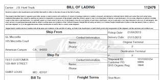 Mercurygate Tip Customize Your Bill Of Lading Supply Chain Coach