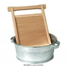 Childs Wooden Washboard  Baby Naturopathics