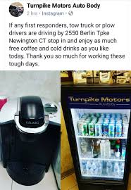 newington ct police on twitter thank you turnpike motors auto body such a strong supporter of first responders and the munity as a whole