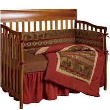 delectably yours com hiend accents baby cascade lodge crib set