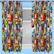 marvel comics justice duvet cover sets matching 54 72 curtains