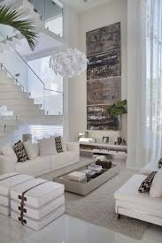 modern white living room furniture. White Living Room Color Scheme With Luxury Chandeliers Modern Furniture