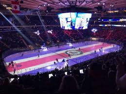 Msg Ny Rangers Seating Chart Photos Of The New York Rangers At Madison Square Garden