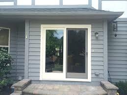 anderson perma shield patio door opal stucco boards cedar trim patio door in andersen perma shield