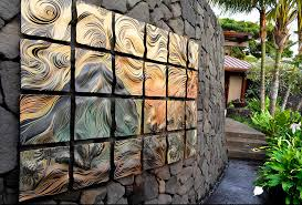 >4 ideas for choosing art for outdoors natalie blake studios ceramic wall art tile outdoor art