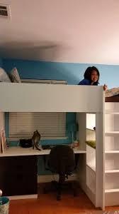 recommendations ikea loft bed with desk beautiful dormitorio con una binaci³n de cama alta blanca que
