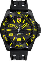 50mm watches for men shopstyle uk ferrari scuderia men s xx kers black silicone strap watch 50mm 830307