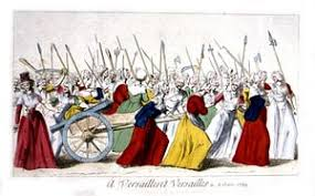 out a path from protest to power the women s will end the of insurgent women in versailles 5 1789