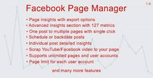 facebook page manager nulled