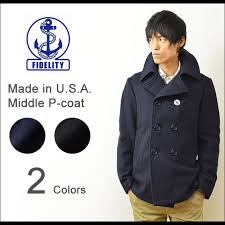 middle coat made of american fidelity