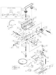 Delta drill press parts dp 300 l t 1 pb concept type 1 schematic rh waphell info craftsman drill press drill press drawing