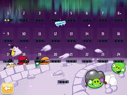 Angry Birds Seasons updates for 2012 Holiday season