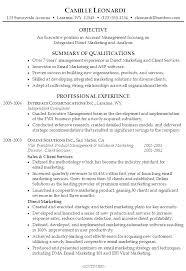Marketing Resume Summary Summary Examples For Resumes Example Of