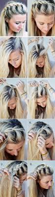 Hochsteckfrisuren Anleitung Rosa Bluse Kurze Blonde Haare Ohrringe