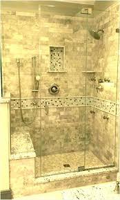 tile shower bench stone shower bench tile shower seat corner seat and pebble stone tile shower