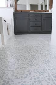 Purkey Tile Designs Stencil Tile Floor Update Painting Tile Floors Stenciled