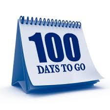 Calendar Countdown Days Seniors Begin Countdown To Graduation With 100 Day Dance