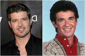 alan thicke robin thicke side by side. Unique Side Robin Thicke U2013 Alan And Side By K